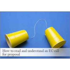 How to read and understand an EC call for proposal