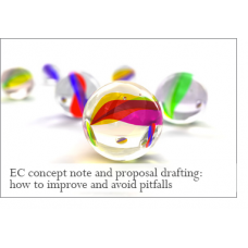 EC concept note and proposal drafting: how to improve and avoid pitfalls